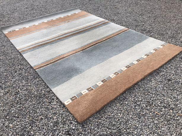 Dwa nowoczesne dywany Indie wełna
