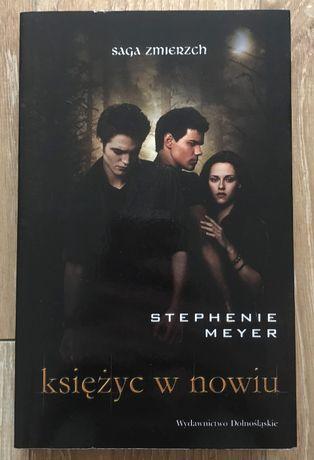 """,,Księżyc w nowiu"""" Stephenie Meyer"""