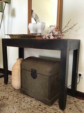 aparador, consola, secretaria, oriental, rustico,  decoração