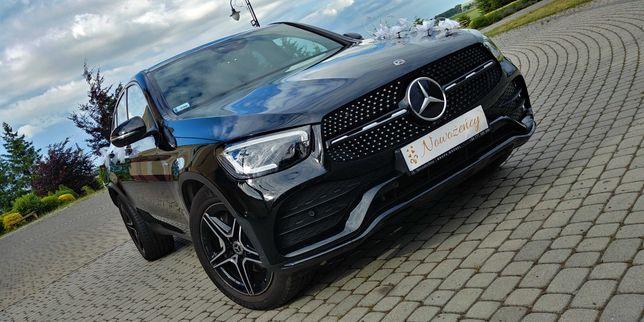Samochód auto do ślubu. Mercedes-Benz GLC 300 Coupe