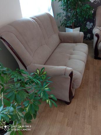 Zestaw dwie kanapy i fotel