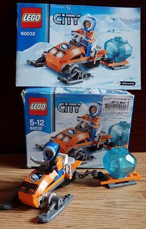 Unikat! Lego City 60032 Arktyczny skuter śnieżny