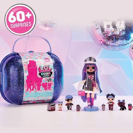 LOL OMG! Огромный чемодан Лол Винтер Диско с куклой ЛОЛ ОМГ Bigger Su
