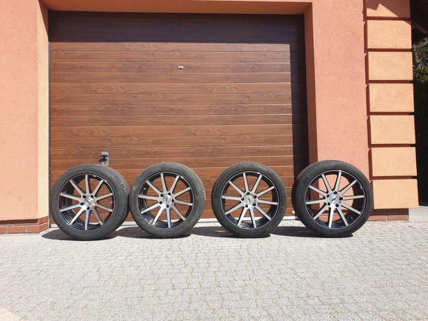 """Felgi AEZ/BMW X3,X4 Straight 19 """" 5 x 120 + opony + czujniki ciśnienia"""