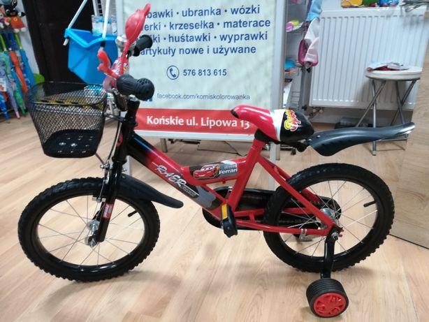 Promocja Nowy rower dla chłopca 4-7 lat koła 16 cali,Zyg Zag Mcqueen