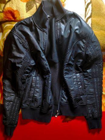 Кожаная куртка adidas ОРИГИНАЛ