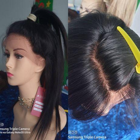 Натуральный парик кожа на шелковой основе славянский детский волос