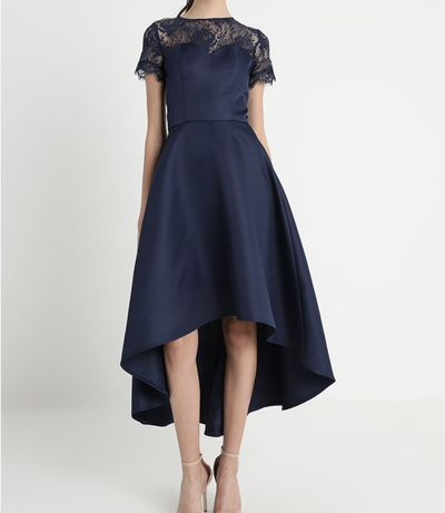 Chi Chi London Jasper suknia balowa navy