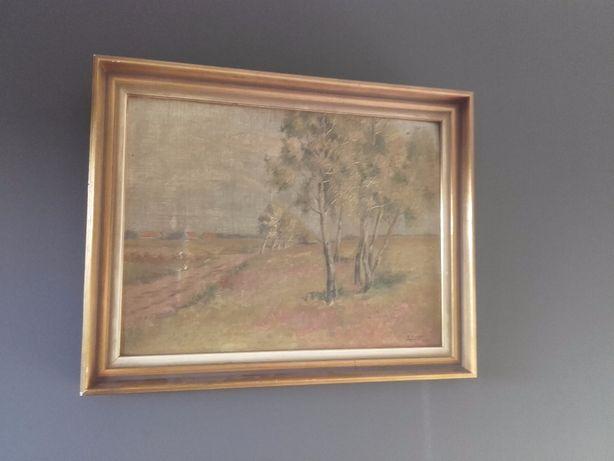 Stary olejny obraz