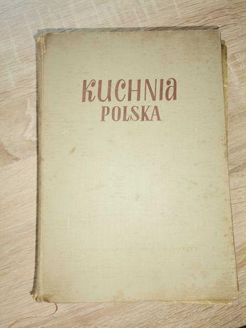 Stara książka kucharska 1956r