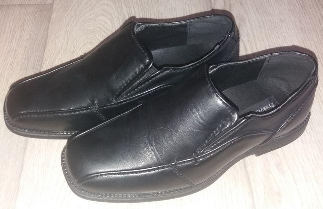 Детская обувь кожа туфли для мальчика