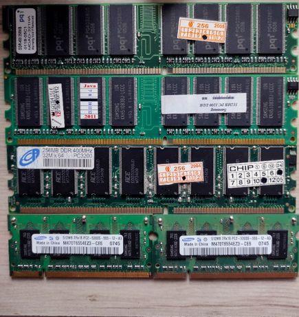 Оперативная память Samsung DDR DDR2 512 DIMM SO-DIMM