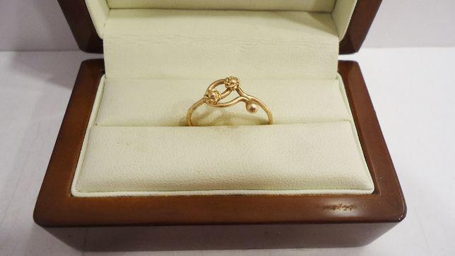 Złoty pierścionek 585 1,33 gram