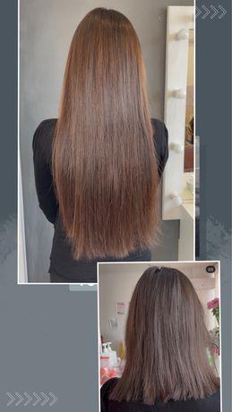 Наращивание , коррекция волос