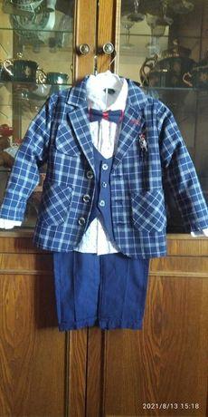 костюм 4-ка на мальчика рост 110