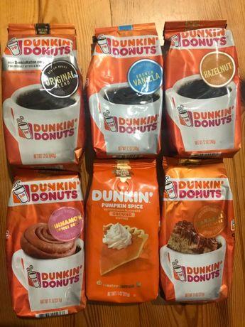 Кофе Dunkin Donuts США, смачна кава Данкін Донут з сша
