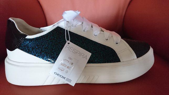 Geox- respira extra sneakersy tramki, tenisówki, adidasy