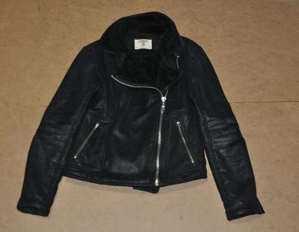 Pull&bear женская стильная косуха куртка