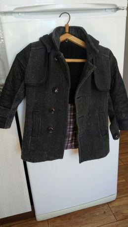 зимнее пальто на мальчика рост 110