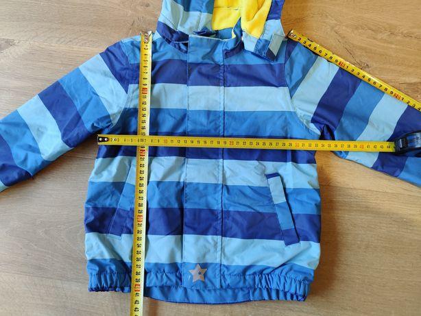 Kurtka dziecięca jesienna na polarze Kids by Tchibo Roz 98-104