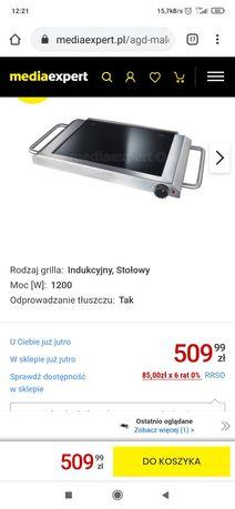 grill elektryczny stołowy Profi cook płyta indukcyjna kuchenka