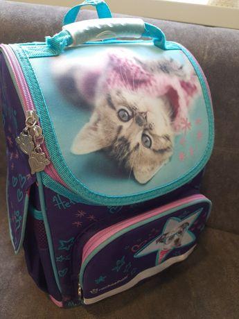 Детский школьный каркасный рюкзак Kite!