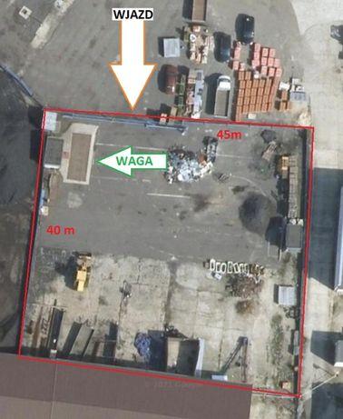 Utwardzony plac 1830 m2, waga, monitoring, oświetlenie - Zgorzelec