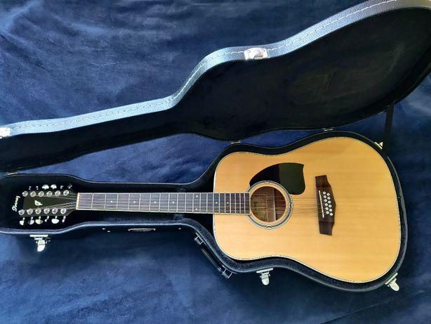 Ibanez PF 1512 NT gitara 12-strunowa + twardy pokrowiec Canto 12WC