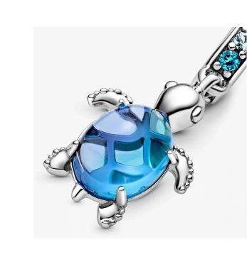 Zawieszka charms Żółwik Żółw do Pandora srebro 925 AN0041 Ponad 100 wz
