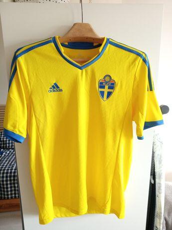SZWECJA koszulka Svenska Sverige Adidas CLIMACOOL