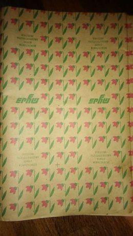 SPHW papier pakowy, na prezenty PRL
