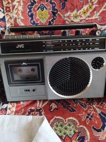 Магнитола, радиоприемник JVC PC 232L Япония