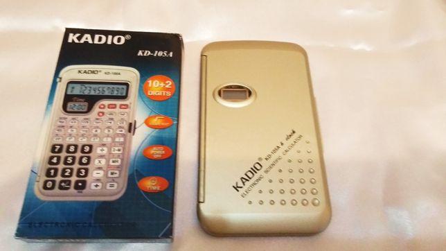 Калькулятор инженерный Kadio 105A, новый