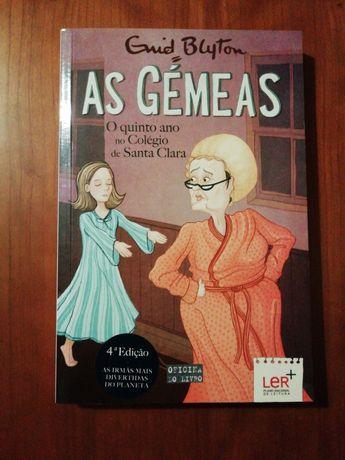 "Livro ""As Gémeas"""