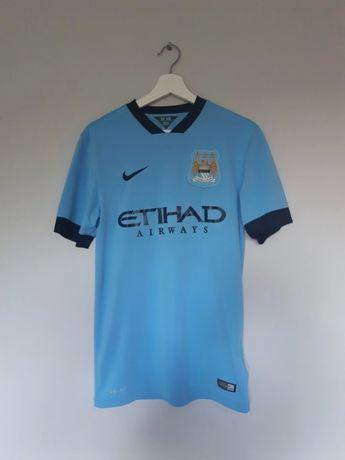 Koszulka piłkarska Manchester City 2014/15 rozm. S nike
