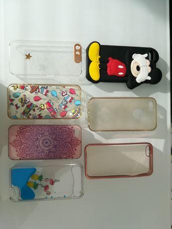 Lote de 7 Capas para Iphone 5S