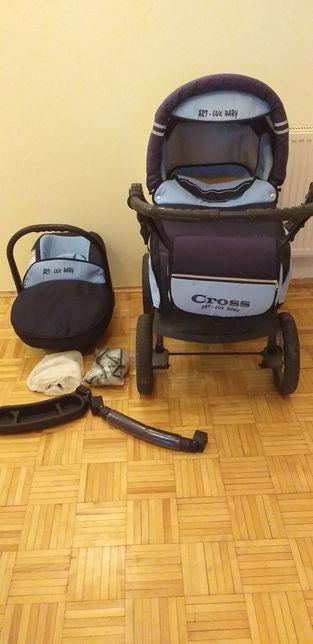 Wózek 3 w 1 Cross Art-Lux Baby