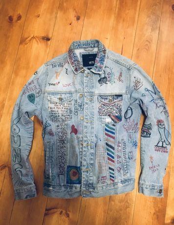 Оригинальная мужская джинсовая куртка (Джинсовка)