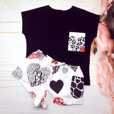 Хлопковые комплекты, пижамы, одежда для дома и сна