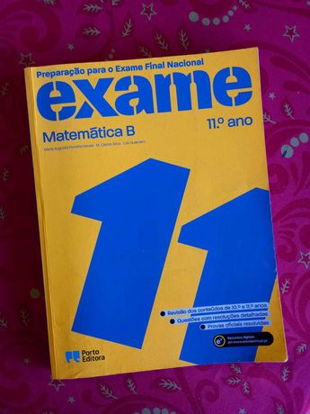 Preparação para o Exame Final Nacional - Matemática B - 11º ano