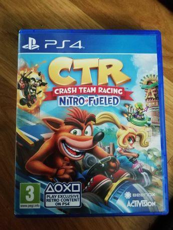 Gra ps4 CTR crash team racing
