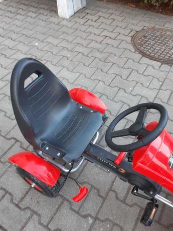 Gokart na pedaly czerwony Arti