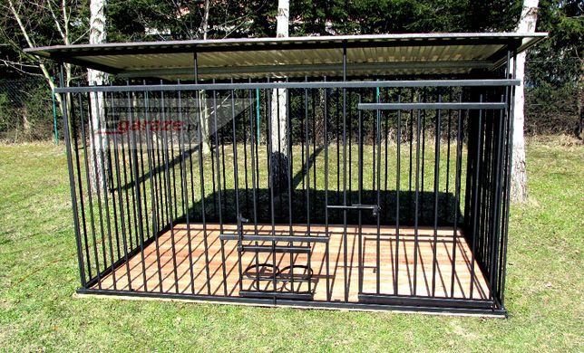 3x2 kojec dla psa czarny, WZMOCNIONY, boks, zagroda, dowolny wymiar