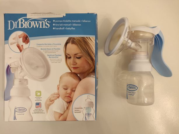 Bomba extração leite Nova Dr. Brown's
