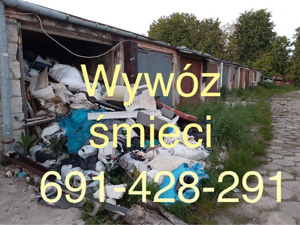 Czyszczenie mieszkań, czyszczenie biur, piwnic,strychów, wywóz odpadów