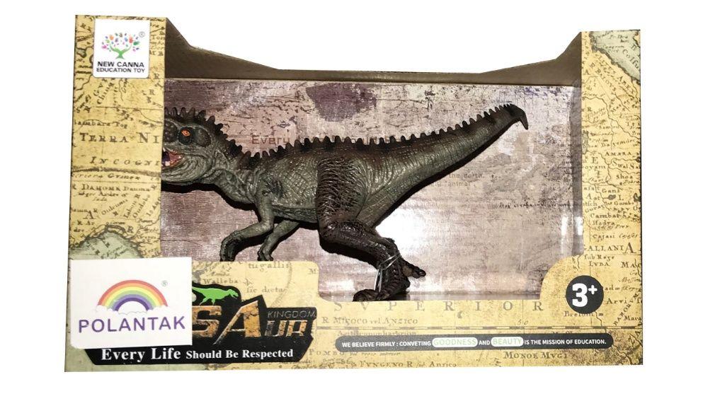 Gumowy Dinozaur Kolczasty miły w dotyku