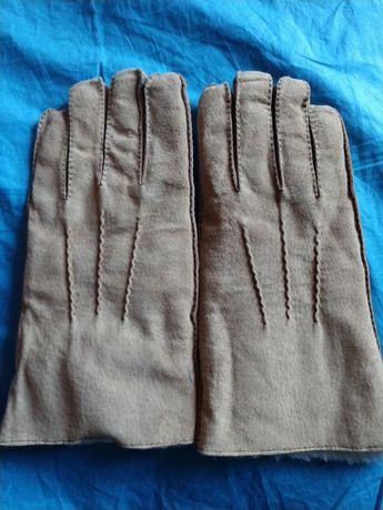 Замшевые мужские перчатки, р. 10, новые