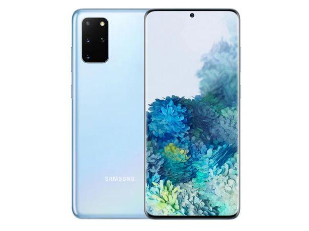 Ze zwrotu - Samsung Galaxy S20 Cloud Blue / Niebieski - Gsmbaranowo