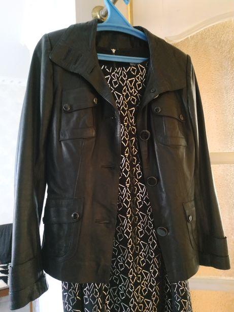 Кожаная Шкіряна куртка