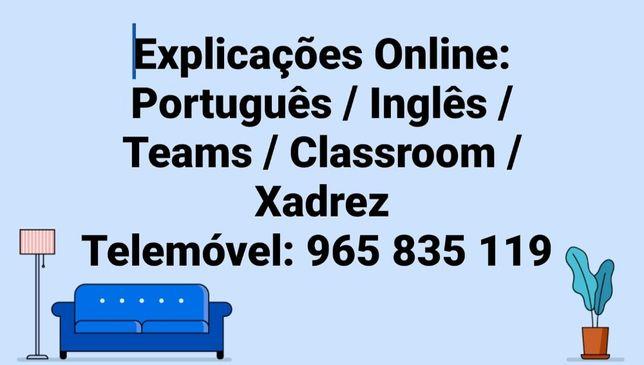 Explicações Online Português e Inglês / Traduções / Correção de Teses